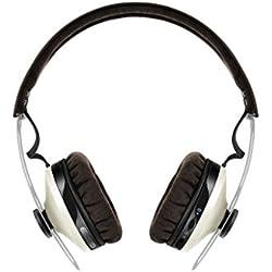 [Inalámbrico] Sennheiser Momentum 2.0 ON-EAR Wireless - Auriculares de diadema cerrados inalámbricos (BT APTX / NFC, cancelación de ruido), color marfil
