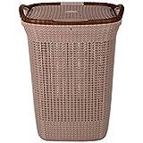 Nayasa Rope Laundry Basket/Laundry Bag - Multipurpose Basket - Plastic Laundry Basket/Laundry Bag - Standard - Light Brown