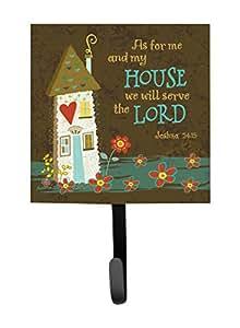 Carolines Treasures VHA3005SH4 As for Me & My House Leash or Key Holder
