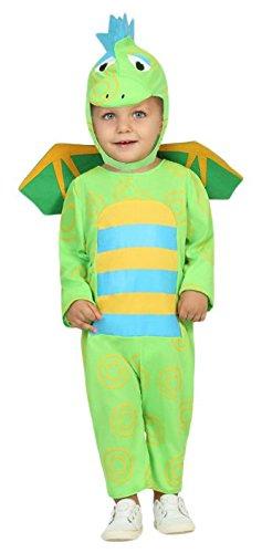 Atosa-30539 Disfraz Dragón, color verde, 0 a 6 meses (30539)