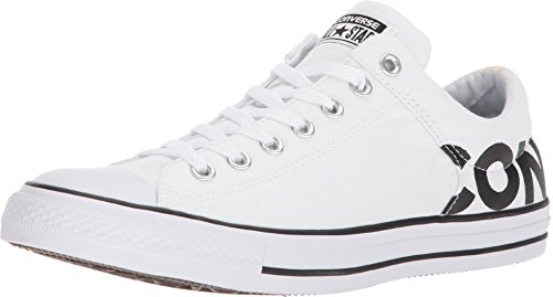 Converse Unisex Chuck Taylor All Star HIGH Street Oxford, White/Black/White, 9.5 M US Chuck Taylor All Star Oxford