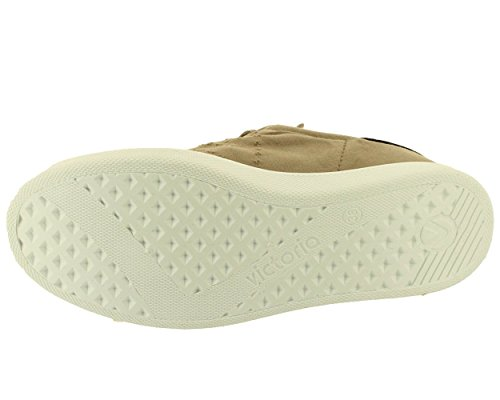 Victoria - Lona tinta stone - Chaussures basses toile Beige