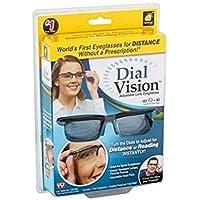 Unisex Dial Vision Adjustable Reading Glasses Myopia Eye Glasses 6D to 3D Variable Lens Correction Binocular Magnifying