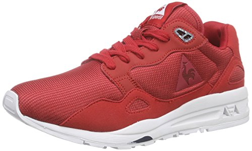 Le Coq Sportif Lcs R900 Unisex, Baskets Basses Mixte Adulte Rouge (FORMULA ON)