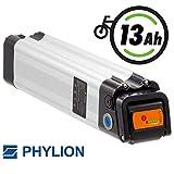 Phylion Akku XH259-13J für E-Bike Pedelec 24V 13Ah für u.a. MiFa, Rex, Prophete