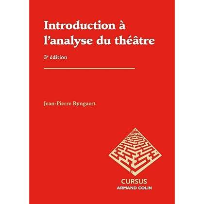 Introduction à l'analyse du théâtre