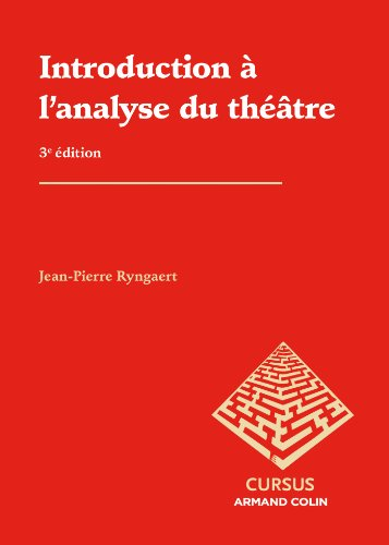 Introduction à l'analyse du théâtre par Jean-Pierre Ryngaert