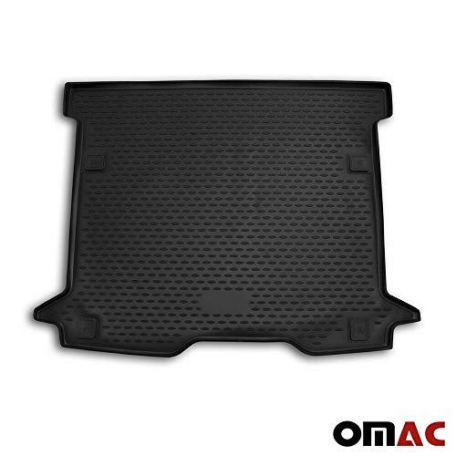 OMAC GmbH Kofferraumwanne Antirutschmatte Gummi Allwetter schwarz fahrzeugspezifisch für Dokker ab 2015
