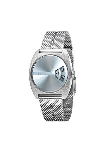 Esprit Damen Analog Quarz Uhr mit Edelstahl Armband ES1L036M0075