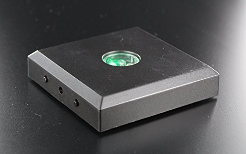 VIP-LASER Base per lampada a 5 LED, cambiacolore, con funzione color-stop, (Rot Laser)