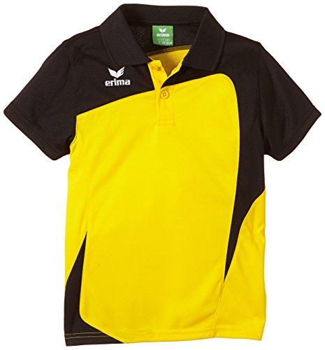 erima Kinder Poloshirt Club 1900 gelb/schwarz