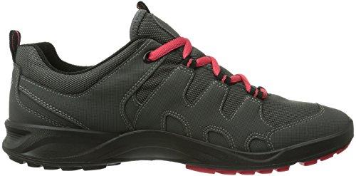Ecco  Terracruise Black/Black Synthetic/Textil, Sandales sport et outdoor femme Gris - Grau (DARK SHADOW/DARK SHA/TEABERRY 58694)