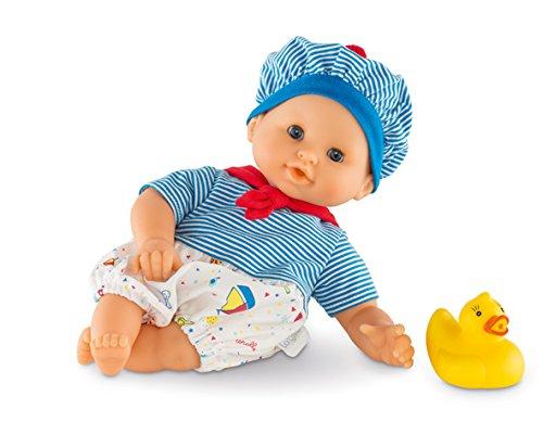 Corolle DPC22 - Badepuppe Mädchen maritim Mon Premier, 30 cm