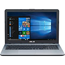 """ASUS K541UA-GO1205T - Ordenador Portátil de 15.6"""" HD (Intel Core i7-7500U, 8 GB RAM, 1 TB HDD, Intel HD Graphics, Windows 10 Home) Plateado - Teclado QWERTY Español"""