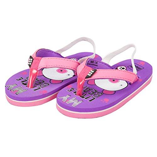 Mee Mee Unisex Purple Flip-Flops and House Slippers - 6 kids UK/India (21 EU)