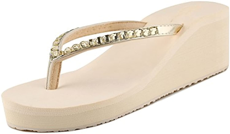 Verano Sandalias Zapatillas de tacón alto de ladrillo de agua Sandalias de tacón alto de mujer de verano sandalias...