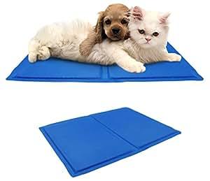 The Magic Toy Shop Pet Dog Cat Cool Mat Self Cooling Gel Mat Pad Bed Mattress Heat Relief Non-Toxic