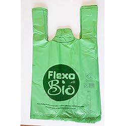 Bolsas biodegradables multiusos certificadas. Microdentadas