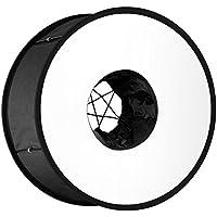 Neewer 45 cm, con anello pieghevole e diffusore per Flash universale, per fotografia Macro e verticale