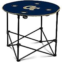 Collegiate klappbar Runder Tisch mit 4Becherhalter und Tragetasche - preisvergleich