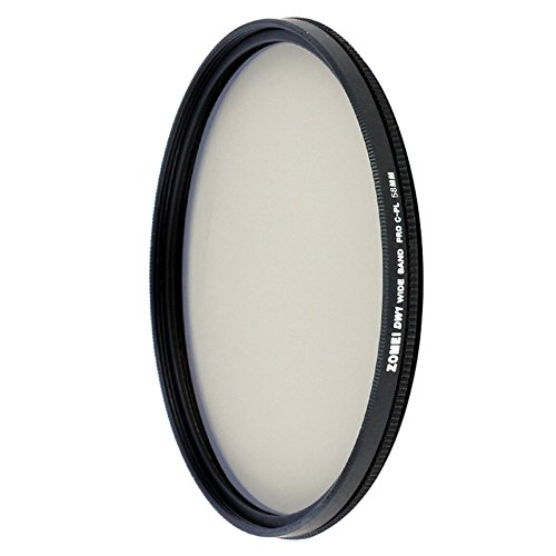 49/52/58/62/67/77 / 82mm Berufsoptischer ZOMEI ultra dünn für CPL-Kamera-Rundschreiben-polarisierender Filter
