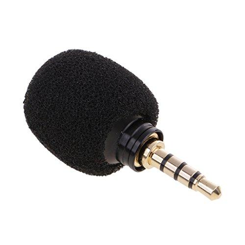 Baoblaze Mono/Standard 3,5 mm Port Plug-in Kondensatormikrofon Für Computer Skype Laptop Sprachverstärker - Standard 3.5mm Stecker (Laptop Für Plug-in)