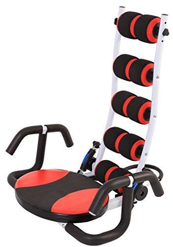 SportPlus Original AB Coach, Bauch- und Rückentrainer, 3-fach verstellbarer Widerstand, rückenschonend, geprüft nach EN 20957 -