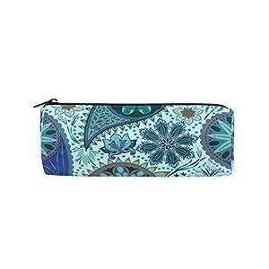 Bonie – Estuche para lápices de diseño étnico bohemio floral estilo vintage, para la escuela, papelería, bolígrafos, con…