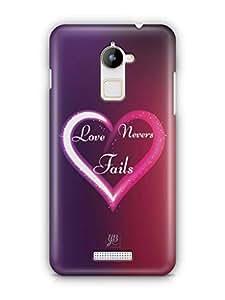 YuBingo Love Never Fails Mobile Case Back Cover for Coolpad Note 3 Lite