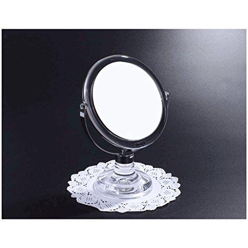 Miroir vertical de miroir de coiffeuse de miroir de série de coquille transparente Double acrylique acrylique de frottement de double de miroir de matériel d'impression se sentent soyeux et délicats Xuan - worth having
