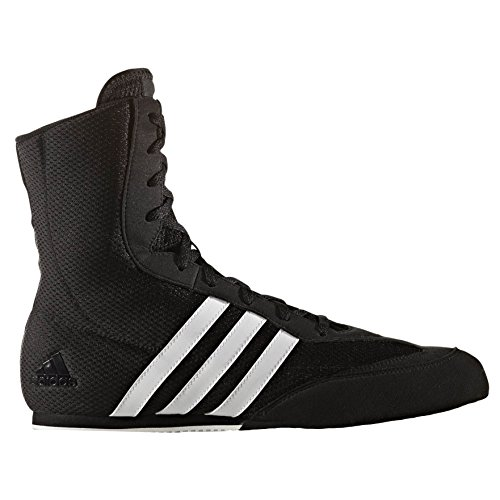 adidas Box Hog II, Chaussures de Boxe Homme, Schwarz (Schwarz), 38 2/3 EU