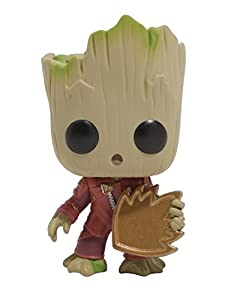 LESHCO-T Funko Pop Vinyl Marvel Guardians of the Galaxy Vol. 2 Baby Groot With Shield Exclusive Figure 2017 by LESHCO-T Funko