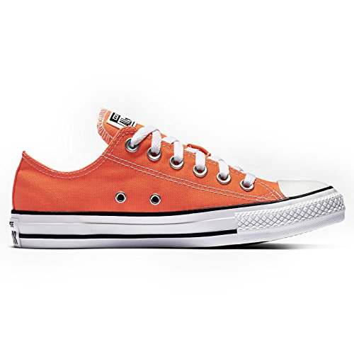 Converse Womens CTAS Ox Hyper Canvas Trainers Orange