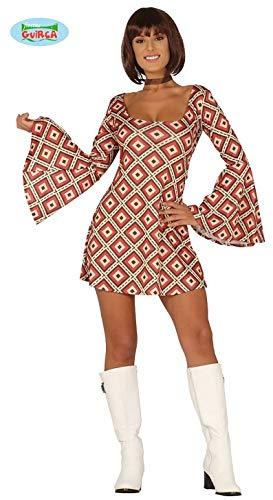 945c89f56d0d Guirca Costume Vestito Disco Anni  70carnevale Donna 8861  L