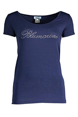 blumarine-q49-t-shirt-maniche-corte-donna-blu-44