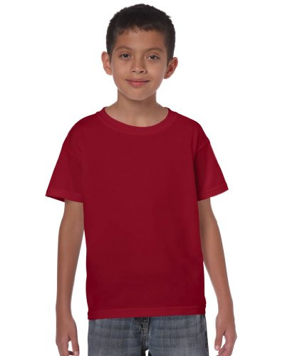 T-Shirt Kids Heavy , Farbe:Cardinal Red;Größe:L (T-shirt Kinder-cardinal Red)