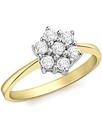 Aglaia 0.50ct 18 Kt Gelbgold Diamanten Ring