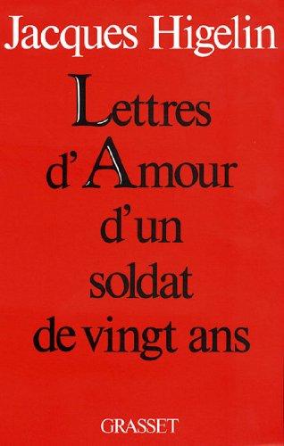 Lettres d'amour d'un soldat de vingt ans (Littérature)