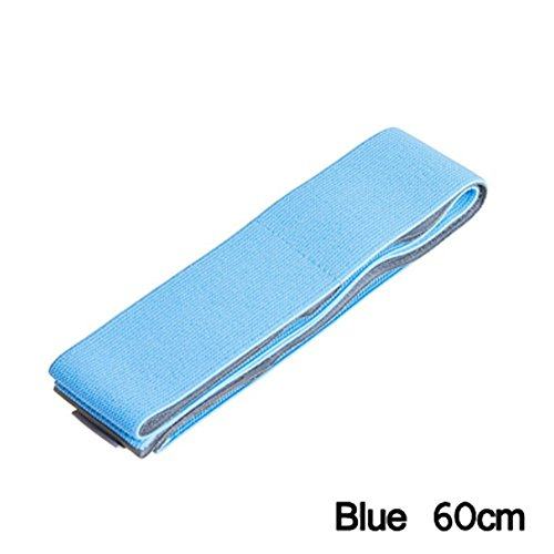 Kasit Elastic Aufräumbarer Gurt Car-styling Car Trunk Organizer Stowing Tidying Strap Fixed Sundry Automobiles Interior Accessories Products (Blau, 60cm)