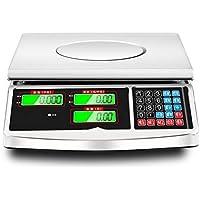 LLRDIAN Balanzas electrónicas Scales balanzas comerciales de pequeño Precio · balanzas electrónicas Pesadas de 30 kg