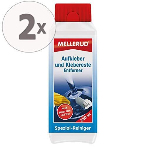 Gardopia Mellerud Aufkleber & Klebereste Entferner Sparpakete (2 x 250 ml)