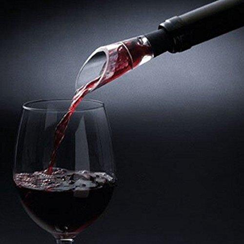 Bazaar W900Magie rot-Belüfter Wein Ausgießer Dekanter verbessern-Tool Saveur Wein-tool