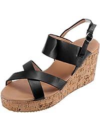 Amazon.es: alpargatas cuña - 42 / Zapatos de tacón / Zapatos ...