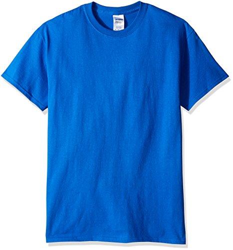 gildan-maglietta-100-cotone-uomo-m-blu-reale