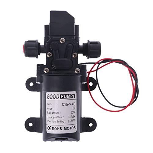 caracteristicas:El soporte de goma puede absorber las vibraciones de la bomba cuando se trabajaCaudal máximo de 6 l / min, el caudal se puede ajustar de 0,1 a 6 litros / min según sus necesidadesLa presión máxima es de 130 psi (9,0 kg). La presión se...