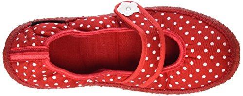 Rot Pantofole Blume Nanga Donna Rosso wqHzZCx