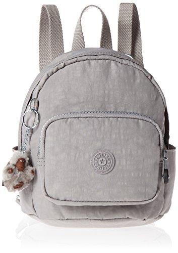 Kipling - Mini Backpack, Mochilas Mujer, Grey (N Slate Grey), 19x21.5x17 cm (W x H L)