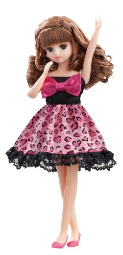Lica chan LW-03 Cutie leopard one piece Dress (doll not included) [JAPAN] (japan import)