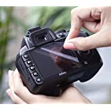 Expert Shield - THE Screen Protector for: Nikon D7100 / D7200 2 Piece Set *Lifetime Guarantee*
