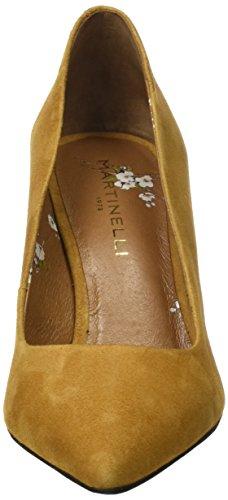 Martinelli Damen Saja Geschlossene Schuhe mit Absatz Gelb (Azafran)